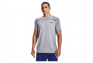 Camiseta De Manga Corta Under Armour Seamless Gris Hombre M