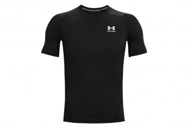 Camiseta De Compresion De Manga Corta Under Armour Heatgear Armour Negro Hombre L