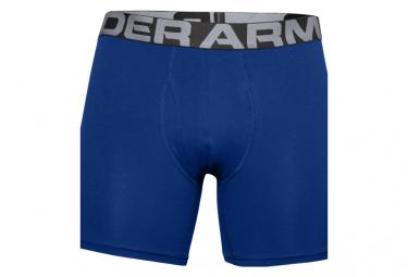 Boxer lot de 3 Under Armour Charged Cotton 15cm Bleu Homme