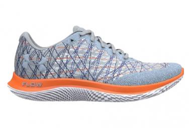 Chaussures de Running Femme Under Armour FLOW Velociti Wind Bleu / Orange