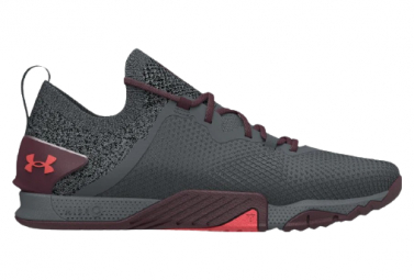 Chaussures de Cross Training Under Armour TriBase Reign 3 Noir / Rouge