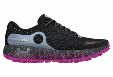 Zapatillas Off Road Trail Under Armour Hovr Machina Negro Violeta Mujer 40 1 2