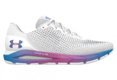 Zapatillas Under Armour HOVR Sonic 4 para Mujer Blanco / Púrpura