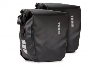 Par de bolsas para bicicleta Thule Shield Pannier 13L (26L) Negro