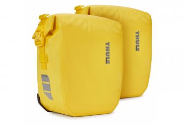 Par de bolsas para bicicleta Thule Shield Pannier 13L (26L) amarillo
