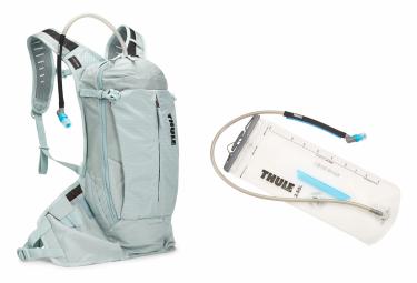 Mochila Thule Vital 8L para mujer Alaska gris azul + Vejiga Thule 2.5L