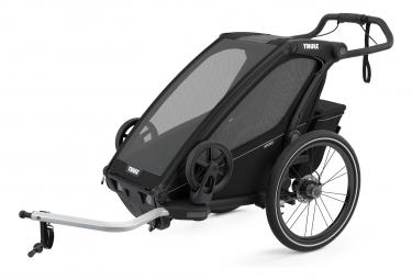 Remolque infantil Thule Chariot Sport negro