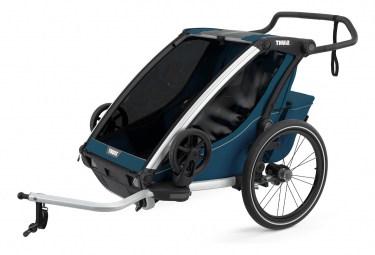 Rimorchio Bambino Thule Chariot Cross 2 Maiolica Blu