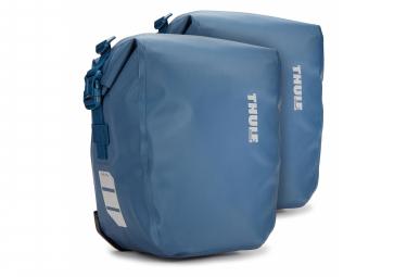 Par de bolsas para bicicleta Thule Shield Pannier 13L (26L) Azul
