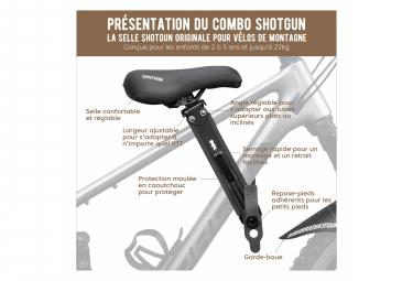 Kit Combo VTT Shotgun Selle + Guidon Enfant