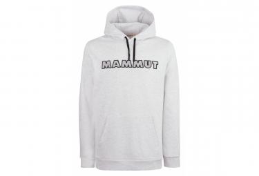 Mammut Mammut Logo Sudadera Con Capucha Gris Para Hombre M