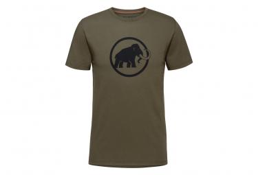 Camiseta Mammut Classic Verde Para Hombre M