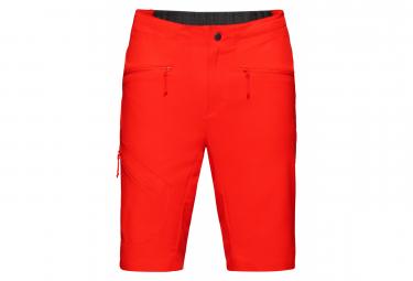 Mammut Sertig Shorts Negro Naranja Hombre 50