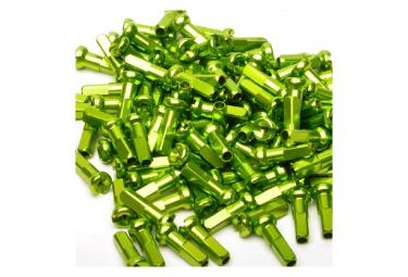Cabezales De Radios De Aluminio Inverso Verde  X38