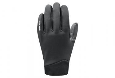 Gants Longs Racer Gloves Rafale Noir