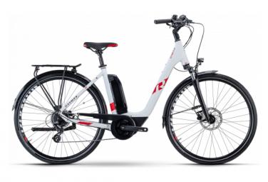 Vélo de Ville Électrique R Raymon CityRay E 1.0 Shimano Altus 8V 500 Blanc 2021