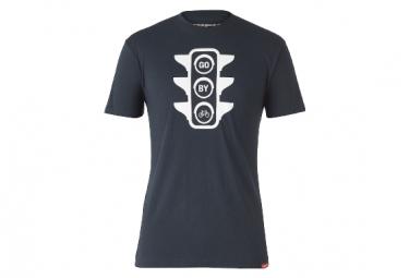 Trek Go By Bike Bremslicht Kurzarm T-Shirt Dunkelblau