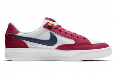 Chaussure Nike SB Adversary Midnight Rouge / Blanc