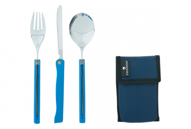 Couverts Ferrino Cutlery Foldable Travel Gris