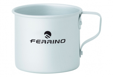 Mug Ferrino Anodized Alumunium Mug With Handle Gris