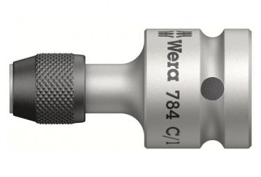 Image of Wera adaptateur 1 2 pour embout 6 pans 1 4