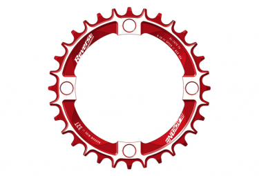 Reverse Narrow Wide Black-One 104 mm Red