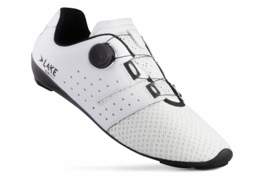 Zapatillas de carretera Lake CX201 Blanco / Negro