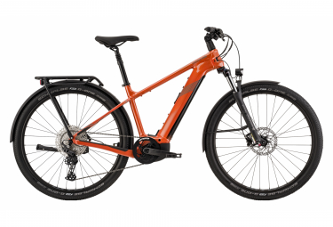 VTC Électrique Cannondale Tesoro Neo X2 Shimano Deore 11V Orange