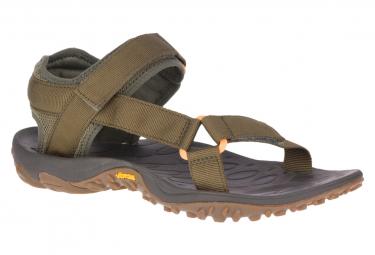 Sandales de Randonnée Merrell Kahuna Web Olive Homme