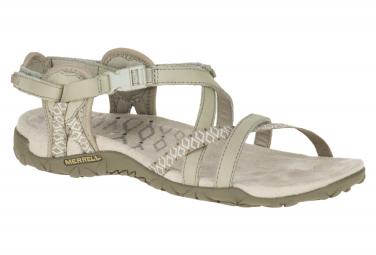 Sandales de Randonnée Merrell Terran Lattice II Beige Femme