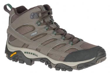 Chaussures de Randonnée Merrell Moab 2 Mid GTX Beige Homme