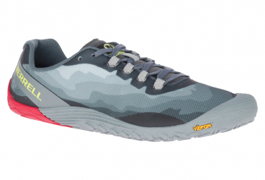 Zapatos De Senderismo Merrell Vapor Glove 4 Azul Gris Hombre 42