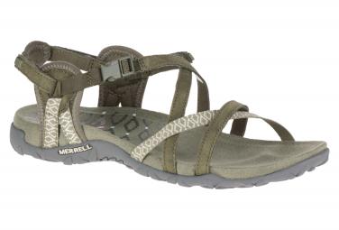 Sandales de Randonnée Merrell Terran Lattice II Olive Femme