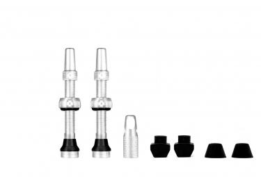 Valves Tubeless Muc-Off Aluminium Presta 44 mm Argent