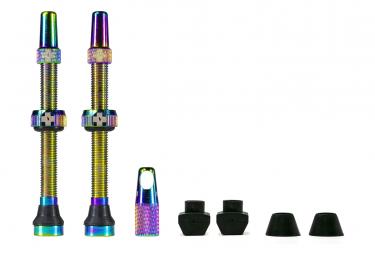 Valves Tubeless Muc-Off Aluminium Presta 60 mm Irisdescent