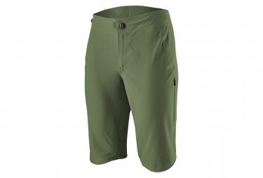 Pantalon Corto Patagonia Dirt Roamer Bike Shorts Verde Mujer L