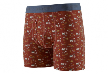 Boxer Patagonia Essential Boxer Briefs - 3 in. Rouge Homme