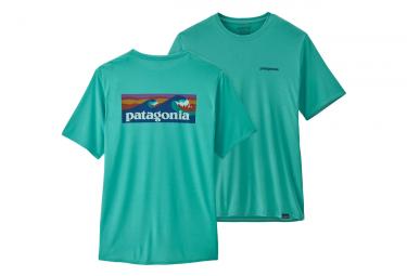 Camiseta Patagonia Cap Cool Daily Graphic Azul M