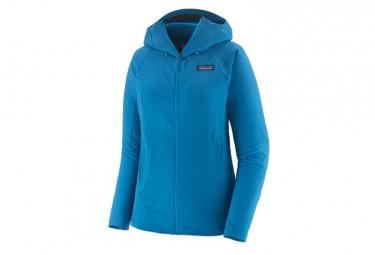 Polaire à capuche Patagonia R1 TechFace Hoody Bleu Femme
