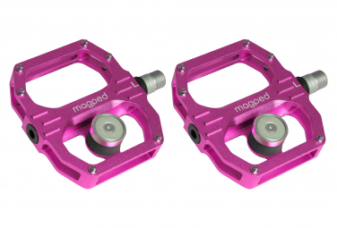 Image of Paire de pedales magnetiques magped sport 2 aimant 150n rose