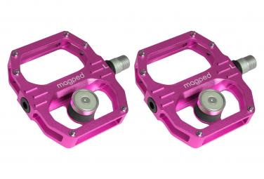 Paire de Pédales Magnétiques Magped Sport 2 (Aimant 200N) Rose