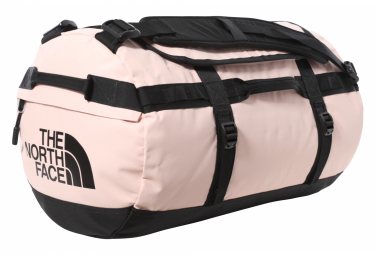 Travel Bag The North Face Base Camp Duffel S 50l Pink Black Unisex
