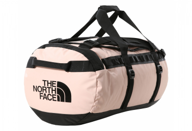 Travel Bag The North Face Base Camp Duffel M 71l Pink Black Unisex