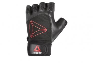 Gants de Training Reebok Lifting Noir / Rouge