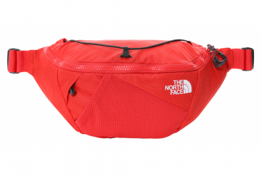 The North Face Lumbnical Belt Bag Red Gray Mens