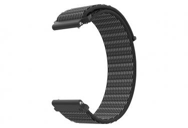 Cinturino in nylon Coros Apex Pro / Apex 46 mm nero