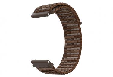 Image of Bracelet nylon coros apex pro apex 46 mm brun amber