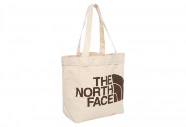 Sac The North Face Cotton Tote Bag Beige Marron