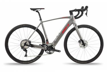 Bicicleta Gravel Eléctrica BH Core GravelX 2.4 Shimano GRX 11V 540 Wh 700 mm Gris 2021