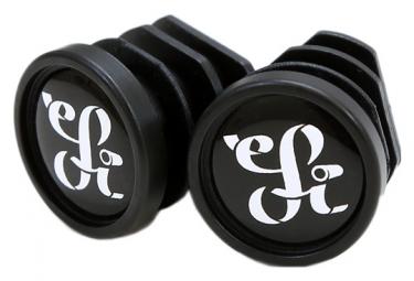 Pair of ESI Plush Silicone Grips Black